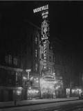 The Jefferson Theatre, New York City, January 6, 1917 Photographic Print by William Davis Hassler