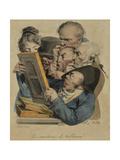 Les Amateurs De Tableux, 1823 Giclee Print by Louis Leopold Boilly