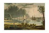 The City of Charleston, Engraved by W.J. Bennett, 1838 Giclee Print by George Cooke