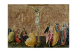 The Crucifixion of Christ, C.1445 Giclee Print by Giovanni di Paolo di Grazia