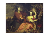 Portrait of Pieter De La Court and His Wife Giclee Print by Ferdinand Bol