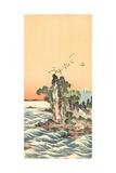 Shichirigahama Zu View of Shichirigahama Giclee Print by Tani Buncho