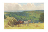Haymaking, 1900 Giclee Print by John Atkinson