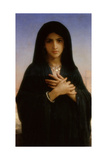 The Penitent, 1876 Giclee Print by William-Adolphe Bouguereau