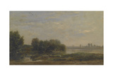 On the Oise, 1863 Giclee Print by Charles Francois Daubigny