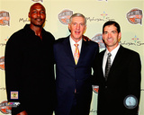 John Stockton, Karl Malone, & Jerry Sloan 2009 Hall of Fame Induction Ceremony Photo