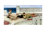 Love in Idleness, C.1891 Giclee Print by Sir Lawrence Alma-Tadema