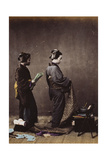 Japanese Women Dressing, C.1870-1880 Giclee Print by Felice Beato
