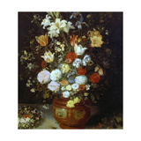 Bouquet of Flowers Giclee Print by Jan Brueghel the Elder
