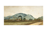 The St. Clare Sugar Factory, Port of Spain, Trinidad Giclee Print by Jean-michel Cazabon