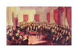 The Virginia Constitutional Convention, 1830 Giclee Print by George Catlin