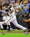 Jonathan Lucroy 2014 Action Photo