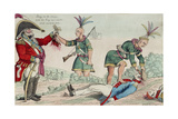 A Scene on the Frontiers as Practised by the Humane British and their Worthy Allies, Pub. 1812 Giclee Print by William Charles