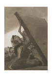 Plate from Los Caprichos, 1797-1798 Giclee Print by Francisco de Goya