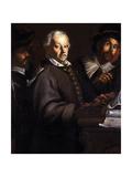 Concert, 1605-56 Lámina giclée por Dirck Hals