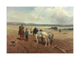 The Story of the Wreck, C.1872 Giclee Print by Richard Beavis