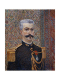 Portrait of Monsieur Pool, 1887 Giclee Print by Albert Dubois-Pillet