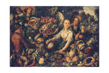 Vegetable Market Giclee Print by Joachim Beuckelaer