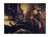Last Tribute to the Counts Egmont and Hoorn Giclee Print by Louis Gallait