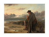 Oh, Why I Left My Hame, 1886 Giclee Print by Thomas Faed