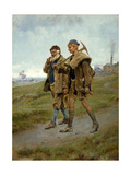 Going Home, 1888 Giclee Print by Ralph Hedley