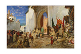 Entry of the Sharif of Ouezzane into the Mosque, 1876 Giclee Print by Georges Clairin