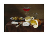 Still Life with Oysters, 17th Century Giclee Print by Jacob Foppens Van Es