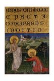 Noli Me Tangere, C.1450 Giclee Print by Giovanni di Paolo di Grazia