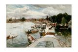 Henley Regatta, 1881 Giclee Print by Alfred De Breanski