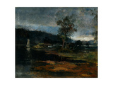 Low Tide, Hawkesbury River, 1887 Giclee Print by Charles Edward Conder