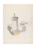 The Choregic Monument of Lysikrates, Athens, 1846 Giclee Print by Thomas Hartley Cromek