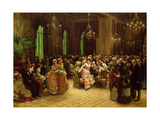 The Casino, Monte Carlo, 1884 Giclee Print by Christian Ludwig Bokelman