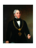 Samuel Smith, Mayor Bradford, C.1854 Giclee Print by Sir John Watson Gordon