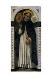 St. Vincent Ferrer, C.1500 Giclée-tryk af Guidoccio Di Giovanno Cozzarelli