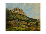 Mount Canaille, Cassis, 1923 Giclee Print by Mark Fisher