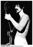 Frank Zappa- Amsterdam 1970 Plakater