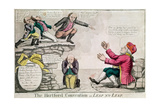 The Hartford Convention, or 'Leap No Leap', February 1815 Giclee Print by William Charles