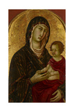 Madonna and Child, C.1310 Giclee Print by Segna Di Bonaventura