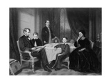 The Lincoln Family, C.1865 Giclee Print by Francis Bicknell Carpenter