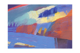 Red Cliffs, 2000 Giclee Print by Kate Dicker
