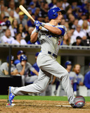 Corey Seager 2015 Action Photo