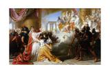 Athaliah's Dismay at the Coronation of Joash, C.1858 Giclee Print by Solomon Alexander Hart