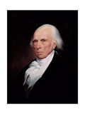 Portrait of James Madison, 1833 Giclee Print by Asher Brown Durand