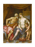 Hephaestus and Aphrodite Reproduction procédé giclée par Hendrik van the Elder Balen