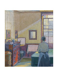 Interior (Mrs. Mounter), 1917 Giclee Print by Harold Gilman