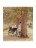 A Rest in the Row, 1892 Giclee Print by Rose Maynard Barton