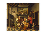 Tea Time Giclee Print by Jan Josef the Younger Horemans