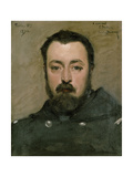 Portrait of M. Berthon, 1870 Giclee Print by Charles Emile Auguste Carolus-Duran