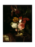 A Rose Giclee Print by Willem van Aelst