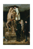 John Graham Lough in His Studio, 1881 Giclee Print by Ralph Hedley